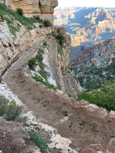 Descending into conflict:  South Kaibab Trail, Grand Canyon